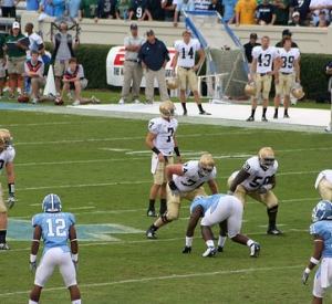 They Call It Powder Blue, Irish vs. Tar Heels News And Notes