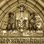 God, Country, Notre Dame (in Glory Everlasting)