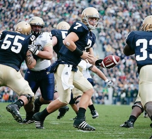 Notre Dame Run Blocking: Positives and Negatives of the Zone Blocking Scheme