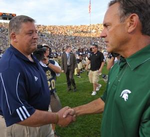 Statistically Speaking: Notre Dame vs. Michigan State